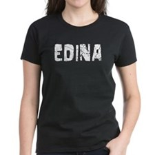 Edina Faded (Silver) Tee