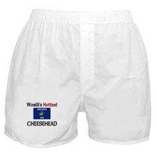 World's Hottest Cheesehead Boxer Shorts
