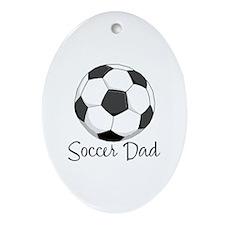 Soccer Dad Keepsake (Oval)