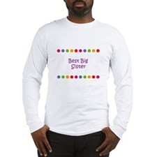 Best Big Sister Long Sleeve T-Shirt