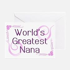 World's Greatest Nana Greeting Cards (Pk of 20)