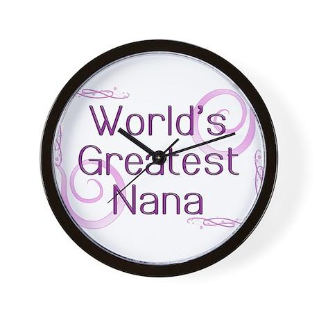 World's Greatest Nana Wall Clock