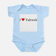 I Love Yahweh Infant Creeper