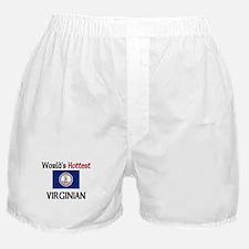 World's Hottest Virginian Boxer Shorts