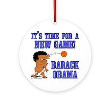 Obama Game Ornament (Round)