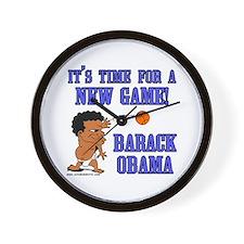 Obama Game Wall Clock