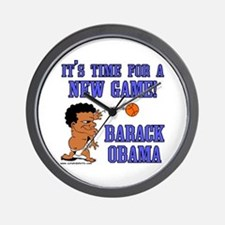 Obama Game Wall Clock