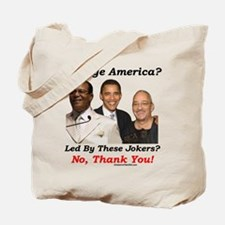 """""""Trust These Guys?"""" Tote Bag"""