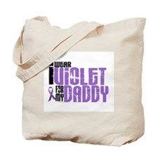 I Wear Violet For My Daddy 6 Tote Bag