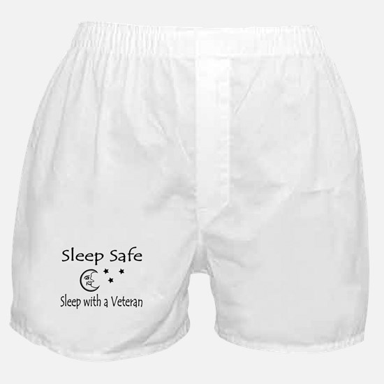 Sleep Safe Sleep with a Veteran Boxer Shorts