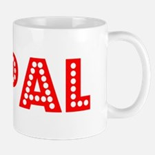 Retro Nepal (Red) Mug