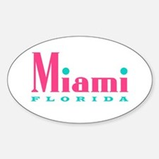 Miami - Oval Decal