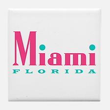 Miami - Tile Coaster