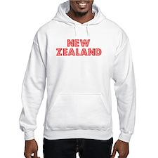Retro New Zealand (Red) Jumper Hoody