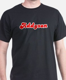 Retro Addyson (Red) T-Shirt