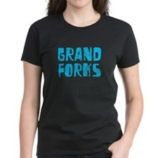 Grand Forks Faded (Blue) Tee