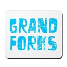 Grand Forks Faded (Blue) Mousepad