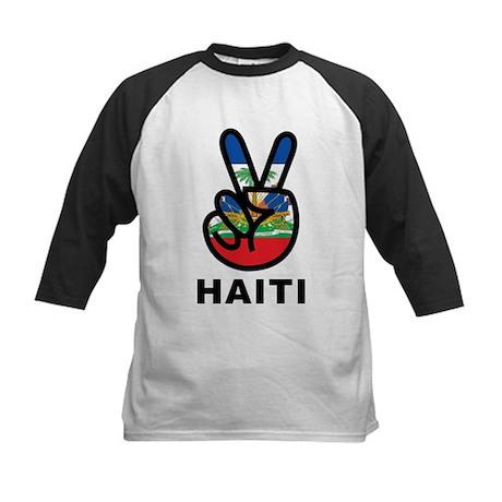 Peace Haiti Kids Baseball Jersey