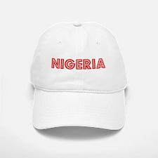 Retro Nigeria (Red) Baseball Baseball Cap
