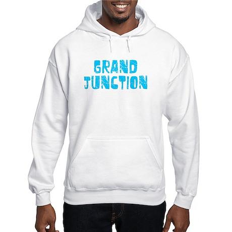 Grand Junction Faded (Blue) Hooded Sweatshirt
