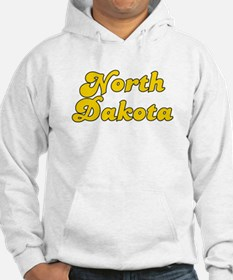 Retro North Dakota (Gold) Hoodie