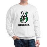 Nigeria Peace Sweatshirt