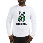 Nigeria Peace Long Sleeve T-Shirt