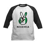 Nigeria Peace Kids Baseball Jersey