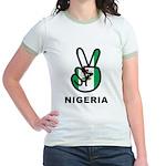 Nigeria Peace Jr. Ringer T-Shirt