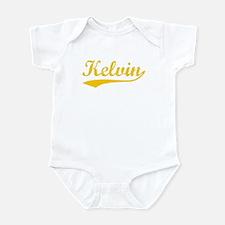 Vintage Kelvin (Orange) Infant Bodysuit