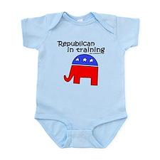 Republican in Training Infant Bodysuit