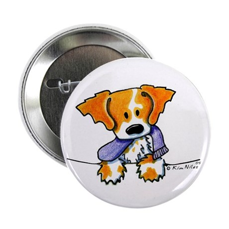 """Pocket Pup Brittany 2.25"""" Button (100 pack)"""