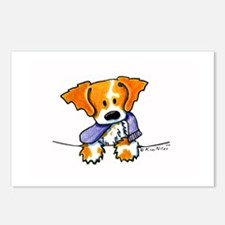 Pocket Pup Brittany Postcards (Package of 8)