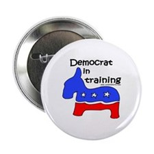 "Democrat in Training 2.25"" Button (10 pack)"