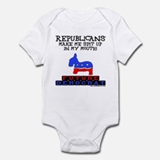 Future Democrat Infant Bodysuit
