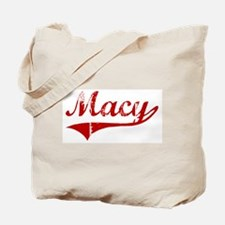 Macy (red vintage) Tote Bag