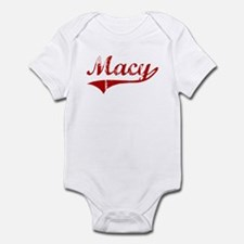 Macy (red vintage) Infant Bodysuit