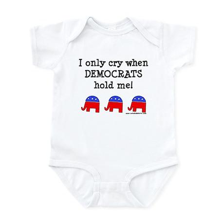 When Democrats Hold Me Infant Bodysuit