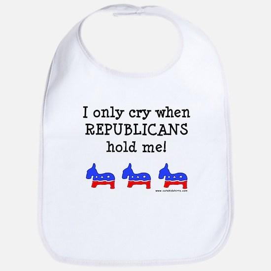 When Republicans Hold Me Bib