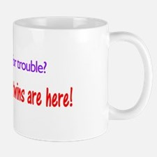 Looking for trouble twins Mug