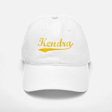 Vintage Kendra (Orange) Baseball Baseball Cap