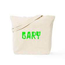 Gary Faded (Green) Tote Bag