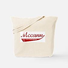 Mccann (red vintage) Tote Bag