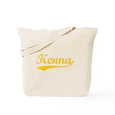 Vintage Kenna (Orange) Tote Bag