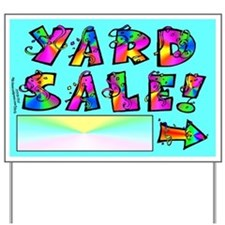 Yard Sale Sign (Right Arrow)