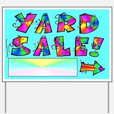Yard Sale Sign (Right Arrow)