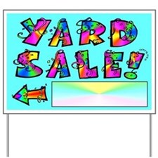 Yard Sale Sign (Left Arrow)