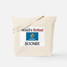 World's Hottest Sooner Tote Bag