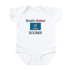 World's Hottest Sooner Infant Bodysuit