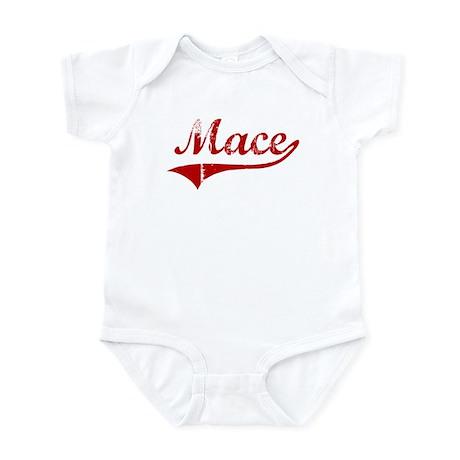 Mace (red vintage) Infant Bodysuit
